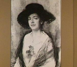 Portret van Wilhelmina Elisabeth Edzardine de Ranitz (1876-1966)