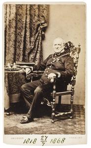 Portret van Jacobus Lemstra van Buma (1797-1868)