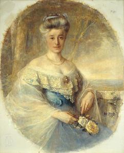 Portret van Elisabeth Wilhelmina van Rechteren Limpurg (1864-1951)