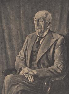 Portret van Hendrik Pieter Marchant (1869-1956)