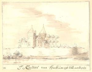 Hattem, gezicht op het kasteel anno 1524