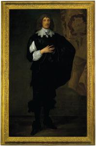 Portret van Sir Basil Dixwell, 1st Baronet of Tirlingham (1585-1642)