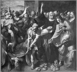 De dood van Ananias (Handelingen 5:1-6)