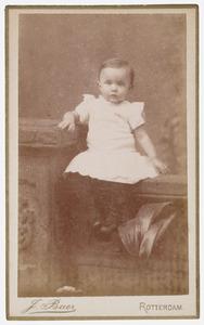 Portret van Clara de Vries (1888- )