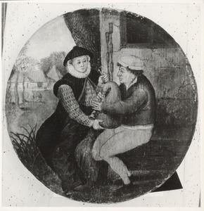 De voorname dame en de doedelzakspeler