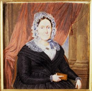 Portret van Louise Rudolphine Julie de Vignon d'Avrincourt (1785-1869)