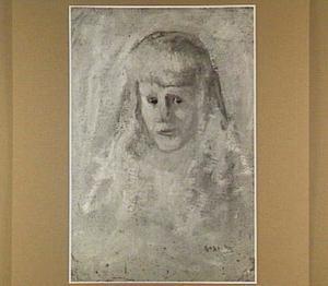 Portret van het halfzusje van de schilder, Marie Anne Henriette Breitner (geb. 1882)