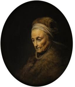 Rembrandt's moeder