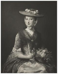 Portretminiatuur van Agatha Bisdom (1743-1776)