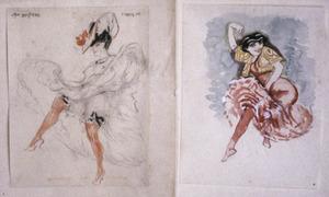 Danseressen - twee studies
