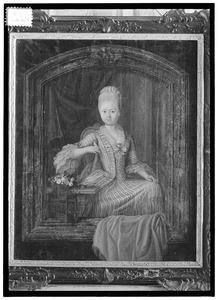Portret van Adriana Petronella des H.R. Rijksgravin van Nassau (1757-1789)