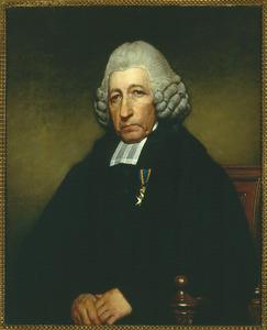 Portret van Jona Willem te Water (1740-1822), predikant te Vlissingen, vanaf 1779 hoogleraar in de Godgeleerdheid en Wijsbegeerte te Groningen