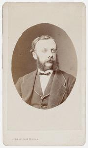 Portret van Johannes Philippus Thooft (1805-1889)