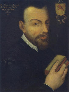Portret van François van der Lisse (....-1621)