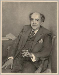 Portret van Koos Philip Gomperts (1890-1965)