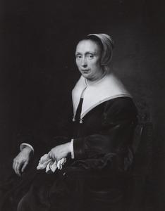 Portret van waarschijnlijk Suzanna de Flines (ca. 1607-1677)
