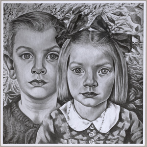 Dubbelportret van Coen Dekker en Sonja Dekker
