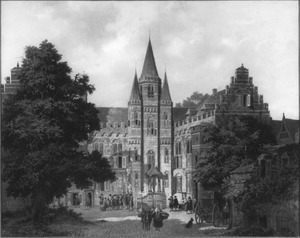 Bisschopshof te Utrecht Anno 1600