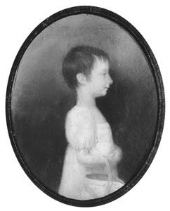 Portret van Sara Agatha van Heeckeren (1801-1862)