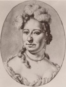 Portret van Magdalena de la Court (1661-1712)