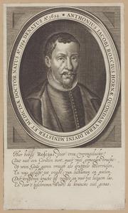 Portret van Anthonie Jacobsz, Roscius (1593-1624)