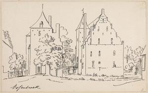 Huis Ossenbroek bij Kleef
