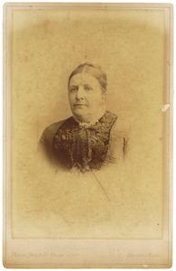 Portret, mogelijk van Sophia Wilhelmina Petronella Teding van Berkhout (1829-1901)