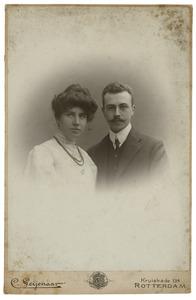 Dubbelportret van onbekende man en vrouw