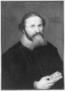 Portret van Augustinus de Wolff (..-1635)