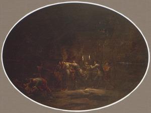 De Judaskus en de gevangenneming van Jezus