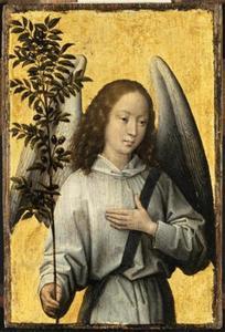 Engel met olijftak