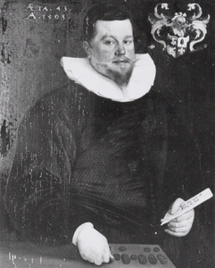 Portret van Jan Hendrik Rhala