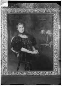 Portret van Wally Mariane Eugenia Lucius (1864-1941)