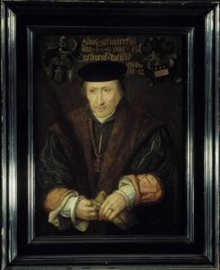 Portret van een man, waarschijnlijk Hendrik van der Veere