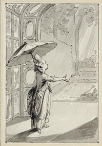 Illustratie voor 'Gods goedheid' in de Kleine gedichten voor kinderen door H. van Alphen