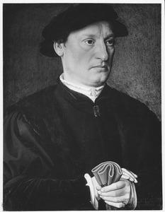 Portret van Nicolaes de Hondecoeter (?-?)
