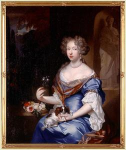 Portret van Maria Wolters (1652-1725)