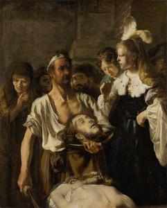 De onthoofding van Johannes de Doper (Mattheus 14:10-11)