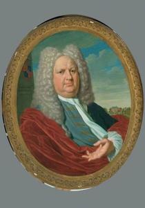 Portret van Arent Fabricius (1674-1729)