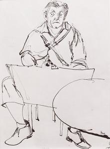 Portret van Herbert Fiedler (1891-1962)