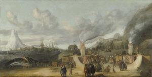 De traankokerij van de Amsterdamse Kamer van de Groenlandse Compagnie op Jan Mayen Eiland