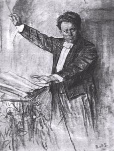 Portret van Joseph Willem Mengelberg (1871-1951)
