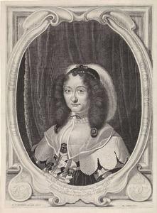 Portret van Magdalena Sibylla van Saksen (1617-1668), kroonprinses van Denemarken