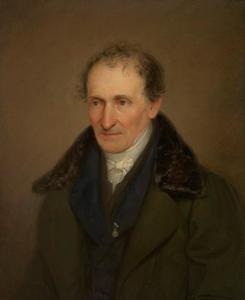 Portret van de kunstenaar Johann Georg von Dillis (1759-1841)