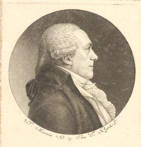 Portret van Petrus Gerardus Duker (1746-1837)