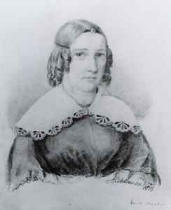 Portret van Maria Elisabeth Leemans (1820-1892)