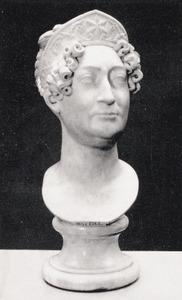 Portret van de actrice Johanna Cornelia Ziesenis-Wattier (1762-1827)