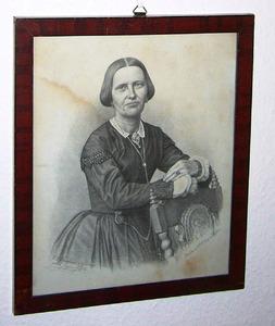 Portret van Henriette Elisabeth van Slingelandt (1819-1905)