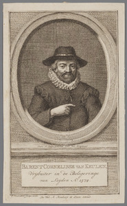 Portret van Barent Cornelisse van Keulen