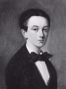 Portret van Johan Jacob Mackay (1842-1859)